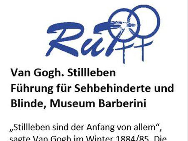 Van Gogh. Stillleben. Führung für Sehbehinderte und Blinde, Museum Barberini