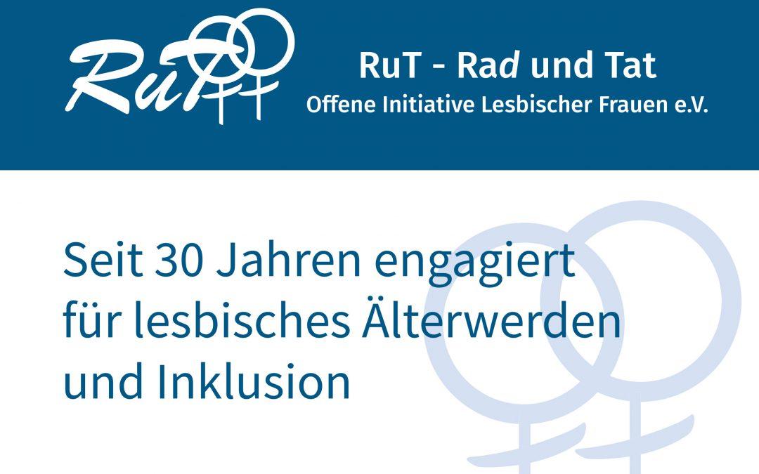 Erinnerungsbroschüre: 30 Jahre engagiert für lesbisches Älterwerden und Inklusion